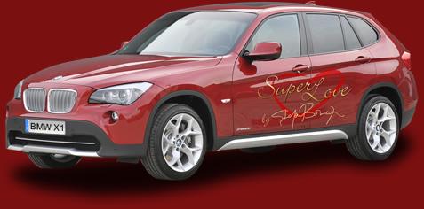 """Concurs """"Super Love"""": castiga o masina BMW X1 si o excursie la Munchen"""